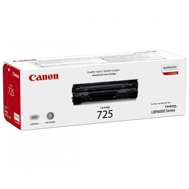 کارتریج لیزری طرح درجه یک 725 کانن canon 725 black laser toner cartridge - کارتریج لیزری طرح درجه یک 725 کانن Canon این کارتریج طرح اصلی میباشد