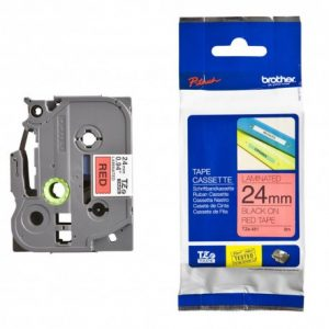 کاست برچسب لیبل برادر TZe451 مشکی روی قرمز Brother TZe-451 p touch Label