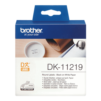 Brother DK 11219 Label Printer Label 12cfeb - برچسب پرینتر لیبل زن برادر مدل Brother DK 11219 Label Printer