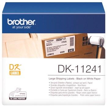 برچسب پرينتر ليبل زن برادر مدل DK-11241 Brother 11241