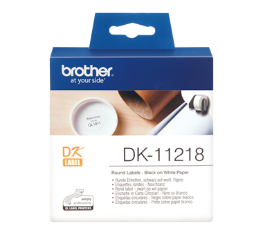 برچسب پرینتر لیبل زن برادر مدل Brother DK 11218 Label Printer