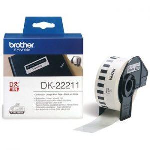 برچسب پرينتر ليبل زن برادر مدل 22211 Brother DK-22211 Label Printer