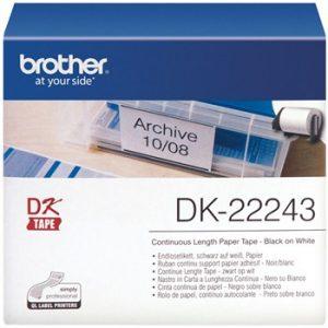 برچسب پرينتر ليبل زن برادر مدل 22243 Brother DK-22243 Label Printer